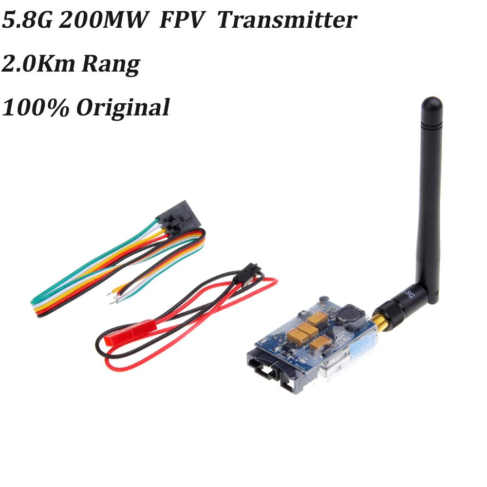 5.8G 200MW Video AV Audio Video Transmitter Sender FPV 2.0Km Range TS351(China (Mainland))