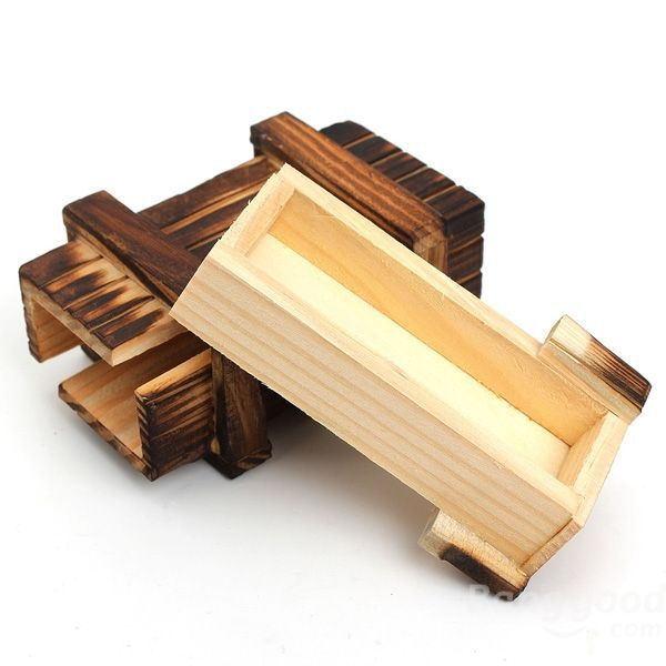 EastRay Mini Compartment Wooden Secret Toy Magic Puzzle Box(China (Mainland))