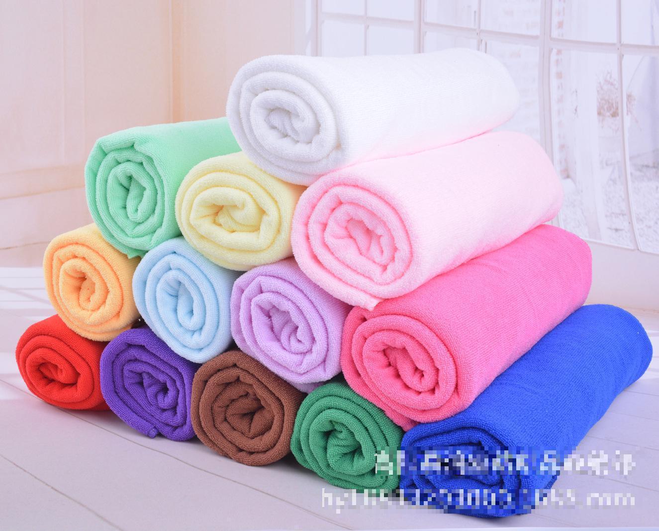 1PCS 34*75cm Unisex Soft Cotton Face Flower Towel Bamboo Fiber Quick Dry Towels