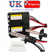 55W H1 Slim Ballast HID Xenon Conversion Kits 4300K 6000K 10000K DC 12V Car Xenon Lights UK