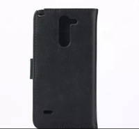 Crazy Horse Pattern Leather Case Wallet Cover Pouch Stand Bag for LG G3 Stylus D690 D690N