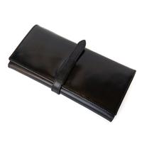 Hot Sale genuine leather wallet women's & men's long cowhide oil wax leather wallets purse fashion clutch bag free shipping