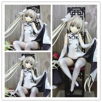 Anime Yosuga no Sora Kasugano Sora Sexy PVC Action Figure Collectible Toy 22cm Free Shipping