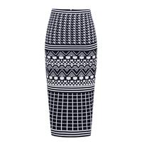 women work wear new 2015 spring high waist plaid all-match OL outfit elegant bodycon skirt vintage hip short skirt pencil skirt