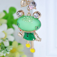 Frog princess keychain car key chain lovers key chains bag hangings