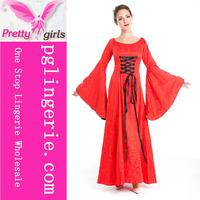 Hot sale Long dress halloween costumes,Sexy halloween costumes for women,Halloween costumes china wholesale M4736
