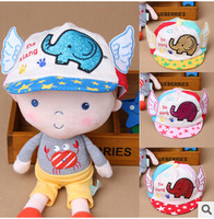 Children in the spring and autumn period and the new baby feet elephant soft eaves little baseball cap