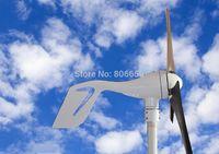 400W Wind Turbine Generator with solar hybrid controller 12/24V auto work *
