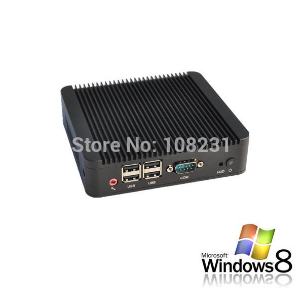 2015 hot sale direct selling cheap mini pc linux Qotom-Q100S Commercial barebone nano pc 1.8GHz dual core small office pc(China (Mainland))