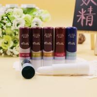 Cute Doll Pattern Fruity Smell Moisturizer Nude Lipstick Lip Cream