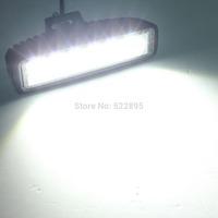 18W LED Offroad Work Light SPOT beam 12V 24V ATV SUV  Mine Boat Lamp Truck,Wholesale 18w IP67 cree led light bar