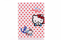 Free Shipping High Quality Lovely Hello Kitty holster case flip stand smart cover for ipad 6 wallet case cover for ipad air 2