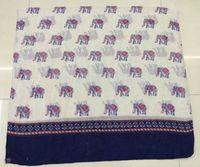 Free shipping New Arrival  ladies fashion  new elephant  print scarf  animal print scarf