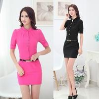 Fashion Novelty Women Party Dresses Black Pink Fashion Ladies Summer Dress Bodycon Slim Mini Vestidos De Festa Femininos
