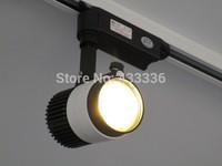 Free shipping 15pcs dimmer track light 20W warm/day/cold / pure white spot led rail 85-265V  wholesale lustre cozinhas pendente