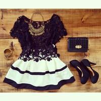 vestidos 2015 women dress vestido party dresses lace dress striped perspective vestido de festa