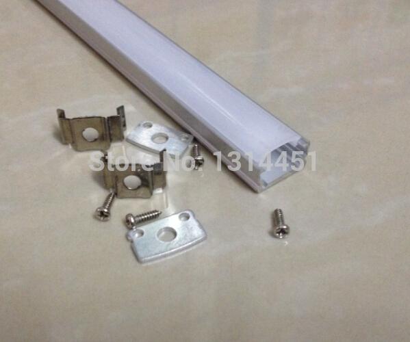 40pcs(80m) a lot X 2M per piece; Aluminum led profil for downlight led channel strip AP1307(China (Mainland))