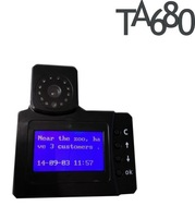 Speed Management GPS Taxi Tracker  TA680 with LCD Screen