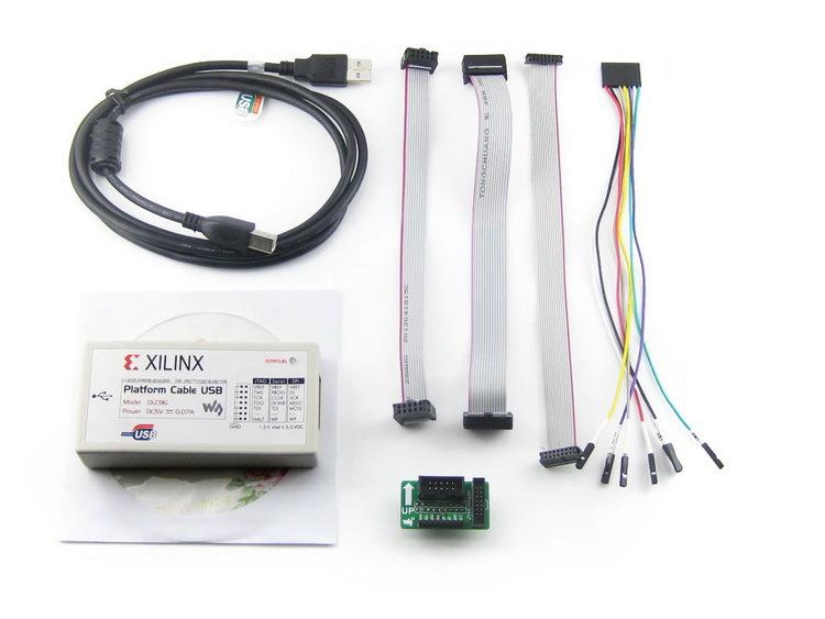 Xilinx Platform Cable USB FPGA/CPLD JTAG DLC9G In-circuit Configuration and Pogramming XILINX Programmer & Debugger(China (Mainland))