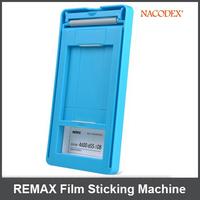 10Pcs REMAX Cellphone Automatic Film Sticking Machine Smartphone Screen Sticking Machine for Iphone/HTC/LG /Nokia/Samsung