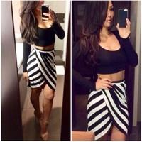 dress 2015 vestidos women dress multicolor mosaic fashion sexy nightclub irregular 2 pieces summer dress vestido de festa
