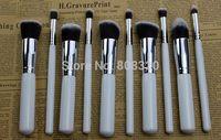 Free shipping!!! 10pcs Makeup Brush Cosmetic Brushes Kabuki Foundation Powder Eyeshadow Lip Set