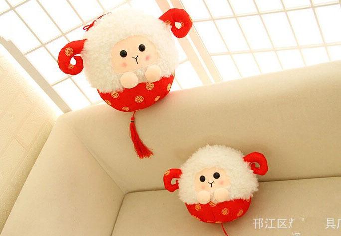 Plush & Stuffed Sheep Toy(China (Mainland))