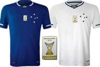 3A +++ thailand Top  2016 new cruise 2015 Cruzeiro home football jersey 15/16 new Brazil shirts futbol football jersey unifrom