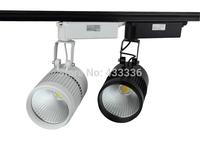 Free shipping led track lighting 20W warm/day/cold / pure white led showcase joias wholesale lampadas 15pcs pista de led