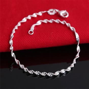 Ювелирные изделия браслеты 925 серебро браслет браслеты для женщины браслеты и браслеты ...