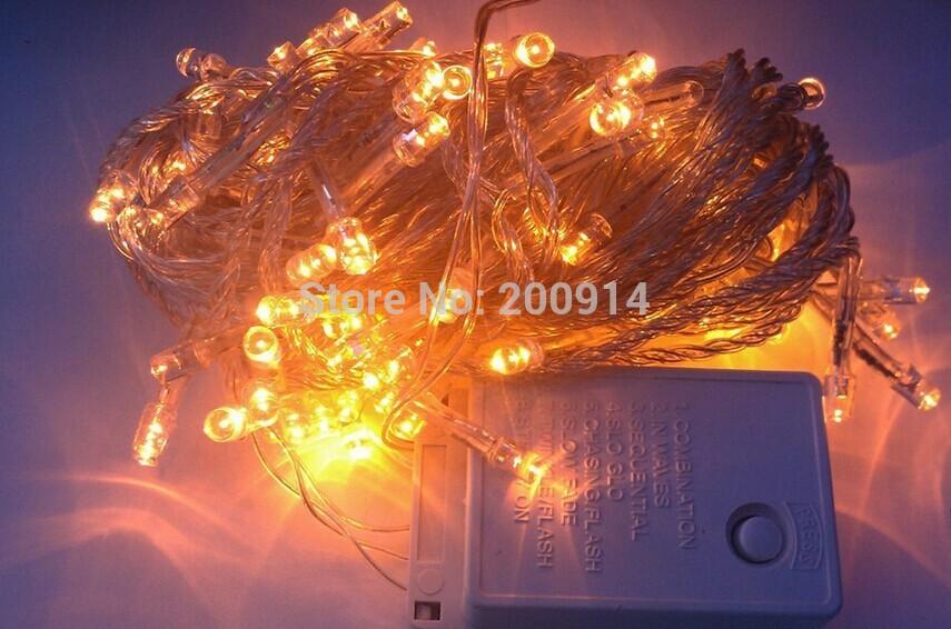 50m AC110/220V led string light 300 leds wedding party Xmas tree decoration lights,led christmas light(China (Mainland))