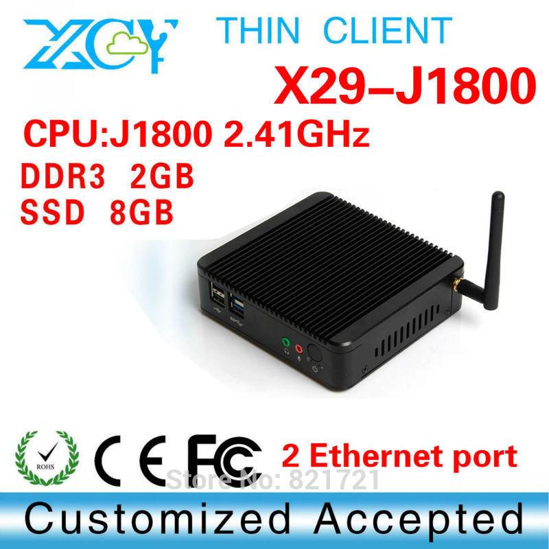 support full-screen movies and 2D games win8 mini pc mini pc nuc dual core mini pc x29 j1800-2 lan port 2g ram 8g ssd(China (Mainland))