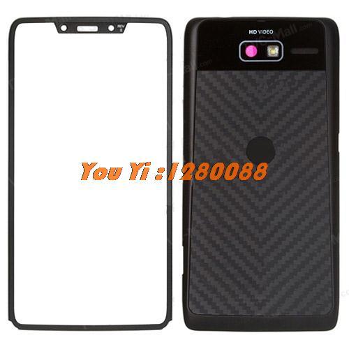 100% Original front frame +back battery door cover Full Housing Faceplates With buzzer earphone jack for Motorola RAZR i XT890(China (Mainland))