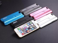 Newest USB Cigar Lighter Case For Apple iphone 6 6 Plus Luxury Businessman Style Plating Polishing PC Hard Cover Phone Case