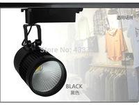 spot rail led 30W luz warm/day/cold / pure white trilho wholesale 15pcs lampada de led para casa 110v branco frio Free shipping