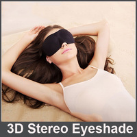 100Pcs 3D Stereo Shading EyeShade Sleeping Eye Mask Cover Eyepatch Blindfolds Blider For Health Care To Shield The Light Goggles