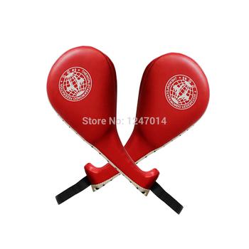 Красный таэквондо равномерной прочный удар Pad целевая таэквондо каратэ кикбоксинг ETS88