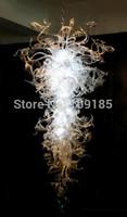 AC 120v/240v LED Bulbs Pure White Glass Finely Diy Chandelier