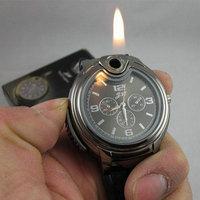 New 2015 Military Lighter Watch Novelty Man Quartz Sports Men Watches men silicone watch