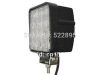 48W 12V Square LED Work Light Bulbs Lights Offroad Car Truck ATV spot beam LED driving Mining Outdoor fog Light.