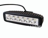 LED waterproof 18W LED Offroad Work Light SPOT beam 12V 24V ATV SUV  Mine Boat Lamp Truck,Wholesale 18w IP67 cree LED light.