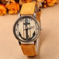 Free shipping! New popular Fashion personalized leather wrist watch, Colorful sport quartz watch women