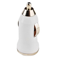 Mini USB Car Charger for iPhone 6 iPhone 6 Plus (White) #00427285