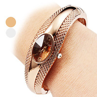 Women's Watch Casual Style Alloy Bracelet Watch #00489119