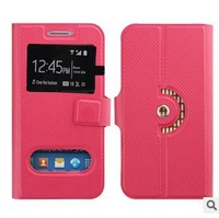 new arrival free shipping quality flip leather phone case for lenovo k50 case with open window 1+H