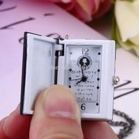 1pcs Vintage Unique Death Note Book Quartz Pocket Watch Pendant Necklace Gift hot sale