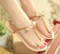 Free shipping/The new flat is comfortable bowknot is han edition fashion contracted joker students for women's shoes