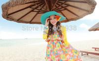 1Pair New Women's Fashion Bohemia Style Chrysanthemum Hair Ropes Summer Beach Hairpins Daisy Hair Clips Wholesale