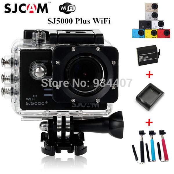Original SJCAM SJ5000 Plus Ambarella A7LS75 Helmet Camcorder SJ5000+ WIFI 1080P 60FPS Sport Action Camera(China (Mainland))