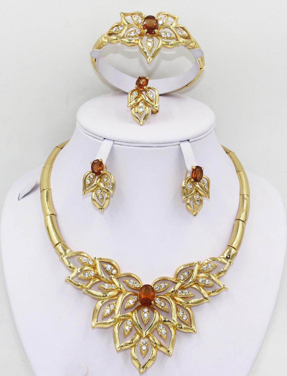 Online Get Cheap Indian Wedding Gold Jewellery Sets Aliexpress